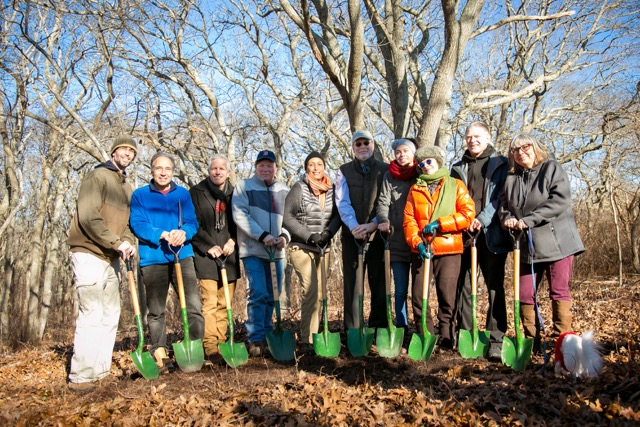 Smalley's Knoll Ground Breaking 2017